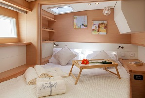 GaySail Catamaran Bedroom