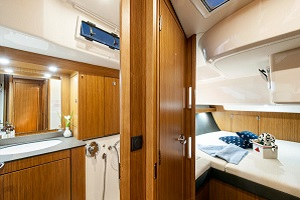 GaySail Bavaria 56 Sailing Yacht Kitchen