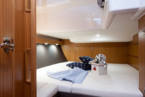 GaySail Bavaria 56 Sailing Yacht Bedroom